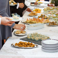 Des buffets festifs