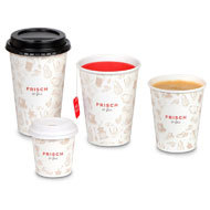 "Bicchiere Coffee-to-go ""FRISCH & fein"""