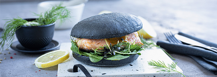Black Gourmet Burger