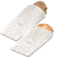 "Sachet snack ""FRISCH & fein"", Take away"