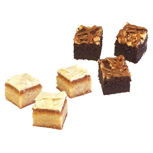 Mikro Brownie- und Blondie-Box