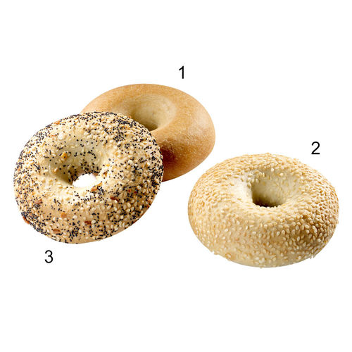 Assortiment de mini-bagels
