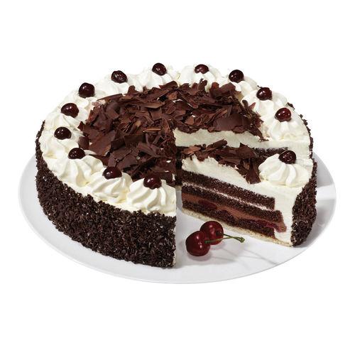 Gâteau forêt noire 28 cm commandez en ligne  HoReCa EDNA.ch