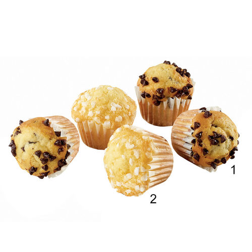 Assortimento di mini muffin, 2 varietà